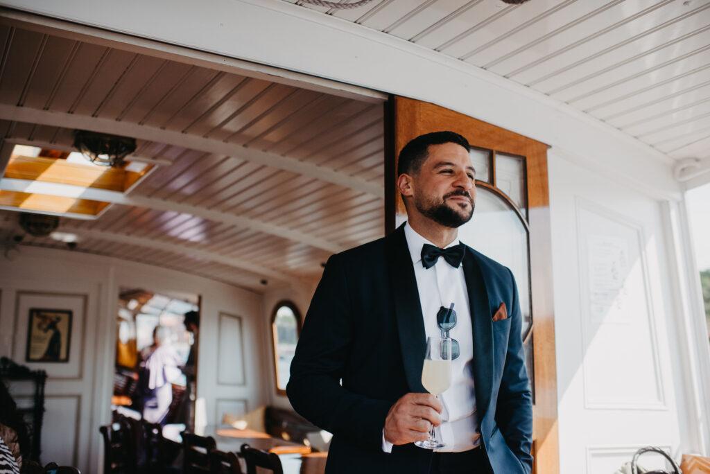 bröllopsfotograf stockholm skärgård Ulriksdals värdshus